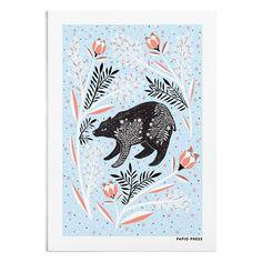 Scandinavian Bear - A4 / A3 Artists Print - Papio Press