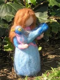 waldorf needle felted dolls - Google Search