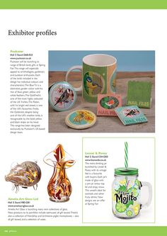 Gift Focus Magazine Issue 87 January / February 2015 featuring our British Birds Design Giftware Range for our Spring Fair Exhibitor Profile