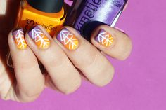 Festival Nail Art + Tutorial | Nailscope: Festival Nail Art + Tutorial