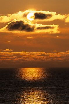 ✯ Sunset over the Sea of Japan