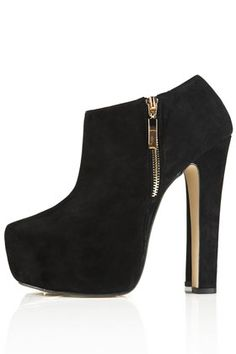 ARISTOCRAT Super-High Shoe Boots by Topshop. give me dese too :(