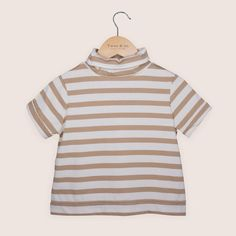 Organic Cotton Elastane AboutTwee & co's Seaside Turtleneck T-shirt has been hand-crafted from a beautifully soft organic cotton. Turtleneck T Shirt, Seaside, Organic Cotton, Turtle Neck, Boutique, Fabric, Beauty, Collection, Tops