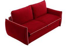 Canapé lit LINUS convertible ouverture RAPIDO couchage 160*195*13 cm