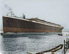 vintage everyday: Rare Colour Photographs of Titanic, c. 1912