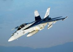 US Navy Boeing F/A-18 E Super Horne of VFA-41.