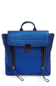 3.1 Phillip Lim | 'Pashli' Shark Embossed Leather Backpack #31philliplim #backpack