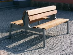 mmcité - products - park benches - Vera - LV110