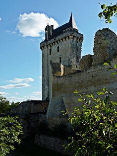 Château de Chinon, via Flickr. France, Explore, Mansions, Studio, House Styles, Manor Houses, Villas, Mansion, Studios
