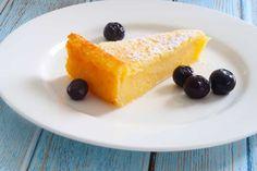 Easy Crustless Lemon Tart - Recipe Winners Lemon Dessert Recipes, Lemon Recipes, Tart Recipes, Easy Desserts, Sweet Recipes, Baking Recipes, Pudding Recipes, Cold Desserts, Apple Desserts