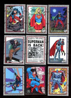 Check out this item in my Etsy shop https://www.etsy.com/listing/261036353/the-return-of-superman-vintage-skybox-dc