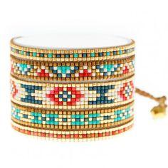 Bracelet Mishky Mélange Blue/Beige