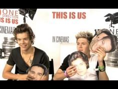 One Direction Funny Interview - This Is Us 2013