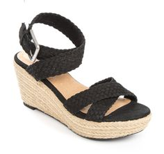 Adam Tucker ...me Too Porsha #sandal #espadrille #shoes #style #fashion #spring