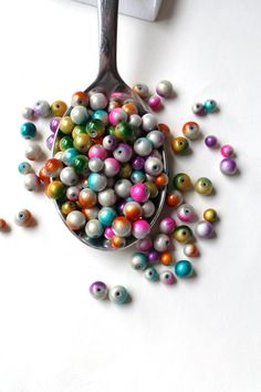 Bright beads for their beautiful creations.
