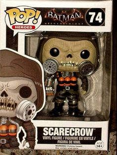 Funko Pop! Heroes Batman: Arkham Knight Scarecrow Pop! Vinyl Figure # 74 NEW