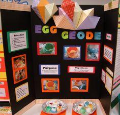 how to make eggshell geodes