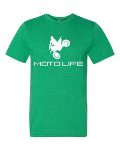 MOTOLIFE (white logo) Short sleeve t-shirt