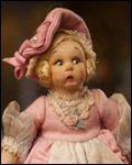 1920s Italian Lenci doll..love the facial expression! :)