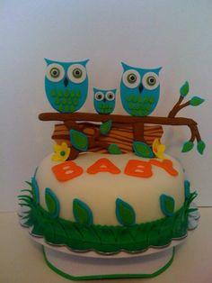 Owl baby shower idea?