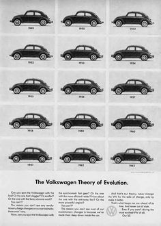 """""""The Volkswagen Theory of Evolution."""""""