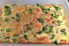 Clafoutis au brocoli et saumon WW, recette d'un délicieux clafoutis léger, salé au brocoli et au saumon fumé, facile et simple à réaliser pour un repas léger du soir.