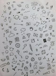 doodles, grunge, tumblr