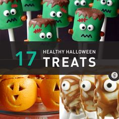 Want to stay healthy this Halloween? Ditch the packaged junk and try some of these sweet 'n' spooky DIY snacks.