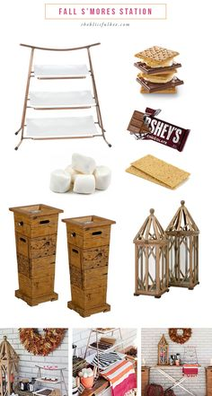 DIY S'mores Station
