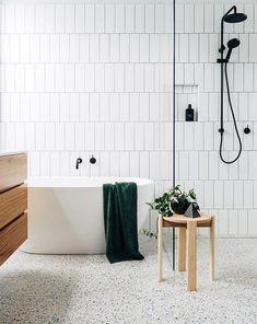 Terrazzo (of granito) is de trend in 2018. Ook in de badkamer. Wat vind jij van deze retro look?