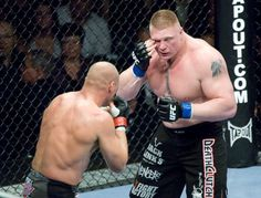 UFC 91 Randy Couture vs. Brock Lesnar #MMA #Cage Fights