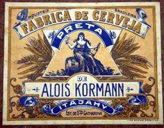 Fábrica de Cerveja Preta de Alois Kormann - Itajaí-SC