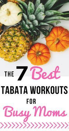 Tabata is the perfect workout for busy moms! | The 7 best Tabata workouts on YouTube | 20 minute tabata workouts | simply-well-balanced.com #tabata #HIITforwomen