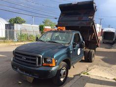 1999 Ford Super Duty F-350 9' Mason Dump Truck