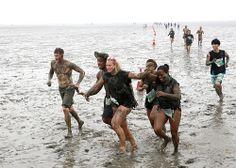 Mud Flat Marathon Competition 01
