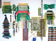 fanny rose- weaving ou tissage contemporain