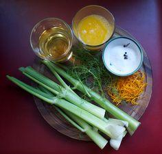 orange pickled fennel stalks more orange pickled pickled fennel ...