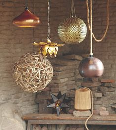 New Woodland Retreat Collection featuring Cost Plus World Market's Driftwood Orb Chandelier >> #WorldMarket Home Decor Ideas