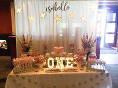 Twinkle twinkle little star dolsang set up dessert table head table