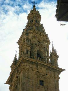 Torre de la Catedral de Sto.Domingo de la Calzada (La Rioja /Logroño).