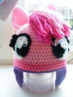 Ravelry: Pinkie Pie My Little Pony Hat Pattern pattern by Patricia Stuart