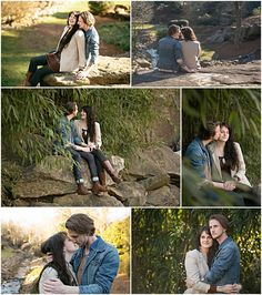 From Bridget and Dylan's proposal/engagement session.When the light if perfect, it's just perfect. Everything here was shot in existing light with no external lighting at all. And what gorgeous subjects too!