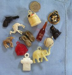 vintage gumball machine trinkets - I have a big collection from my childhood. I am crazy about them.