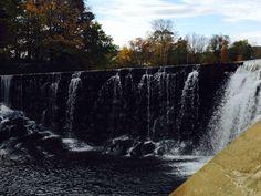 Waterfall in Wilton, Maine
