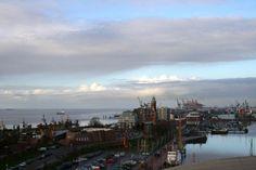 Blick von der Aussichtsplattform in #Bremerhaven.