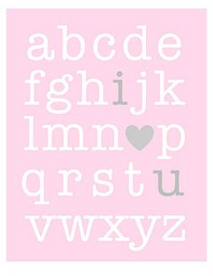 """Valentine's """"i ❤ u""""  free print"""