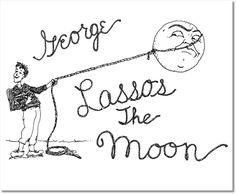 It's a Wonderful Life PDF Printable 'George Lassos the Moon'. $5.00, via Etsy. #surprise
