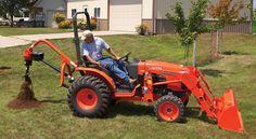 Tractor Implments: Detailing Harrows, Graders, Augers and Rakes Kubota Tractors, Tractor Implements, Compact Tractors, Heavy Equipment, The Unit, Trucks, Construction, Tools, Building