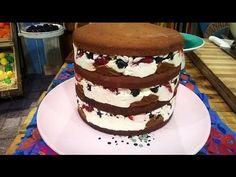 Torta desnuda de frutos rojos - Recetas – Cocineros Argentinos