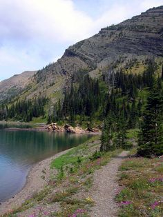 Crypt Lake trail